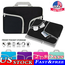 Laptop Sleeve Case Notebook Bag Cover For Apple HP Dell Lenovo Asus 11-17 inch