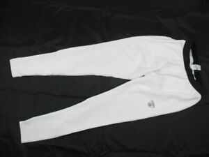 Reebok Compression Pants Men's White Poly Used Multiple Sizes
