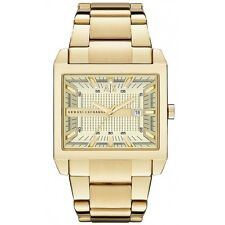 **NEW** MENS ARMANI EXCHANGE AX GOLD SQUARE TENNO  WATCH - AX2208 - RRP £179