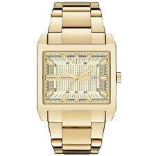 ** Nuovo ** Da Uomo Armani Exchange AX Orologio D'oro quadrato TENNO-AX2208-RRP £ 179