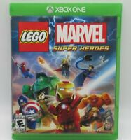 LEGO: MARVEL SUPER HEROES GAME FOR MICROSOFT XBOX ONE, DISC, CASE, MANUAL