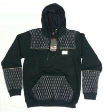 Sudadera con capucha de hombre en color principal negro 100% algodón