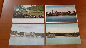 4 Vintage Postcards Lake Minnetonka, Minnesota Related