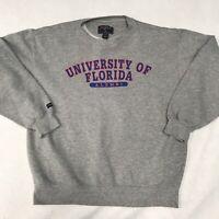 🌴Jansport University Of Florida Alumni Men's L Large Gray Long Sleeve Sweater🌴