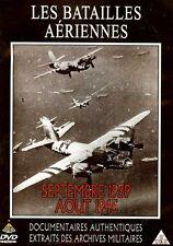 LES BATAILLES AERIENNES / SEPTEMBRE 1939 - AOUT 1945 /*/ DVD GUERRE NEUF/CELLO