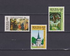 S18073) New Zealand MNH Neu 1984 Christmas 3v (Enthält L.von Credi Painting)