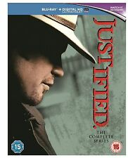 Justified Complete Collection 1-6 Blu Ray Box Set All Seasons UK Rele New Sealed