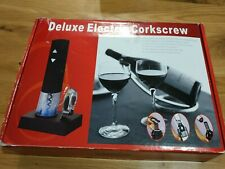 Deluxe Electric Corkscrew Set Wine Bottle Opener BAR ORIGINALE NEW RRP £45!