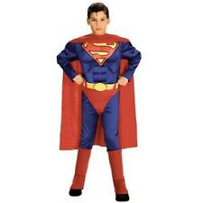 NEW NIP Superman Muscle Chest Boys Dress Up Pretend Costume Medium 5-7 years