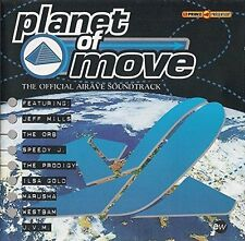 Planet of Move-The official Airrave Soundtrack (1994) Jeff Mills, Orb, .. [2 CD]