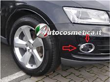 2 Cover Cornici Cerchi Fendinebbia in ABS Cromo Paraurto AUDI Q5-I° qualita' **