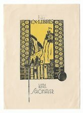 ANONYM: Exlibris für Karl Schomaker