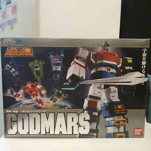 Godmars Gx-40 Soul Of Chogokin Robot Bandai NUOVO NEW!