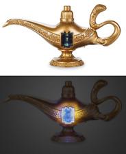 Disney Store Life Action Aladdin Magic Genie Lamp Light Sounds Talking Toy
