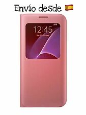 Funda libro Flip ventana S-wiew Samsung Galaxy S7/s7 Edge