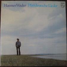 Hannes Wader, Plattdeutsche Lieder , VG/VG, Vinyl  LP, 8458
