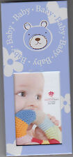 """Baby Picture Frame with Bear Design by Fashion Craft, 2.5"""" x 5.75"""", New"""