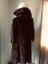 Vintage Brown Mink Fur Coat Full Length