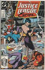Justice League Europe #4 : Vintage DC Comic Book : July 1989