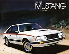 1980 80 Ford Mustang  original sales brochure