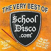 THE VERY BEST OF SCHOOL DISCO.com 3 CDS 50 TRACKS FAT CASE DJ DISCO PARTY