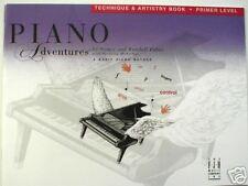 Faber Piano Adventures Technique & Artistry Book Primer