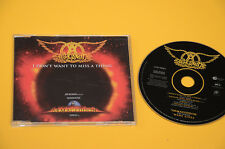AEROSMITH ARMAGEDDON 4 TRACKS CD SINGOLO (NO LP )