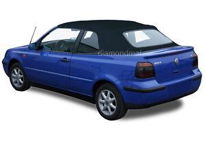 VW Volkswagen Golf Cabrio Cabriolet 1995-01 Convertible Soft Top Blue Stayfast