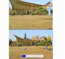 Car Awning Canopy Sun Shade Tent Tarp Rain Shelter Camping Beach Travel 8 person