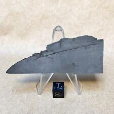 Gibeon Iron Anvil Specimen 64g Etched Part Slice by Meteorite Men Steve