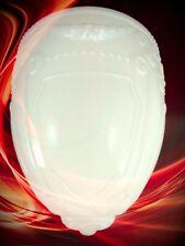 Lampenschirm weiss Vintage Art Déco Lampen Leuchten Geschenk Glas Beleuchtung
