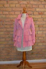 I PINCO PALLINO Traumhafter Trenchcoat Mantel Jacke rosa pink Gr.8/128