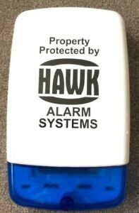 Burglar Alarm Box Sticker - Dummy Alarm Box Sticker - Fake Alarm Box Sticker