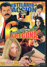 6 Peliculas De Las Mas Fregonas, BRAND NEW FACTORY SEALED SPANISH LANGUAGE DVD