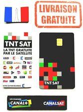 ✅ CARTE TNTSAT HD V6 NEUF ★ EN STOCK ★ OFFICIELLE ★ LIV RAPI decodeur ASTRA 19.2