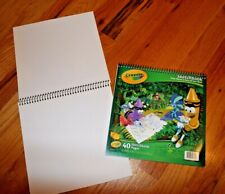 "Lot of 3 Crayola Sketchbooks Approx. 30 Sheets Each 9"" X 9"" Draw, Sketch & Paint"