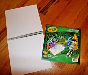 """Lot of 3 Crayola Sketchbooks Approx. 30 Sheets Each 9"""" X 9"""" Draw, Sketch & Paint"""