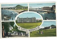 RP. NORTH BERWICK. Multi-View, DENNIS, Postcard 1958.