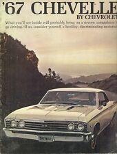 Chevrolet Chevelle 1967 Export Markets Sales Brochure SS 396 Malibu Sport 300