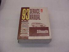 Oldsmobile 1993 Silhouette GM service manual.