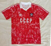 1990 Soviet Union retro classic soccer football team home t-shirt jersey tw