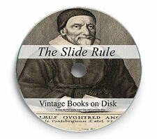103 Slide Rule Rare Books Manuals on DVD Ruler Circular Calculator Maths 247