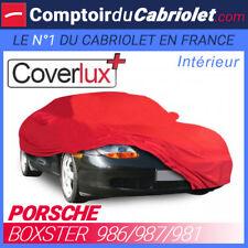 Housse / Bâche protection Coverlux Porsche Boxster en Jersey - couleur Rouge