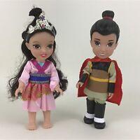 """Disney Princess Petite Mulan Li Shang Toddler 6"""" Dolls Prince Jakks Toys R Us"""