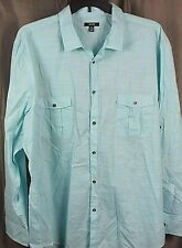 Edwards Garment Mens Point Collar Long Sleeve Oxford Shirt/_FRENCH BLUE/_Large 37