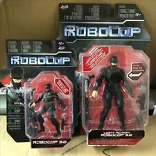 "ROBOCOP 3.0 ACTION FIGURE 2014 MOVIE 6"" BLACK FIGURE + 4'' Figure"