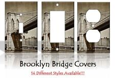 Brooklyn Bridge NYC New York Light Switch Covers Home Decor Outlet