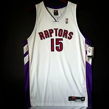 100% Authentic Vince Carter Nike Toronto Raptors NBA Pro Cut Home Jersey