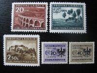 LAIBACH THIRD REICH WWII OCCUPATION mint stamp lot! CV $6.00
