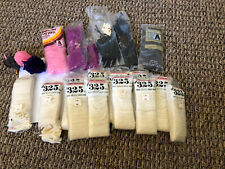 Vintage Lot Latch Hook Rug Yarn